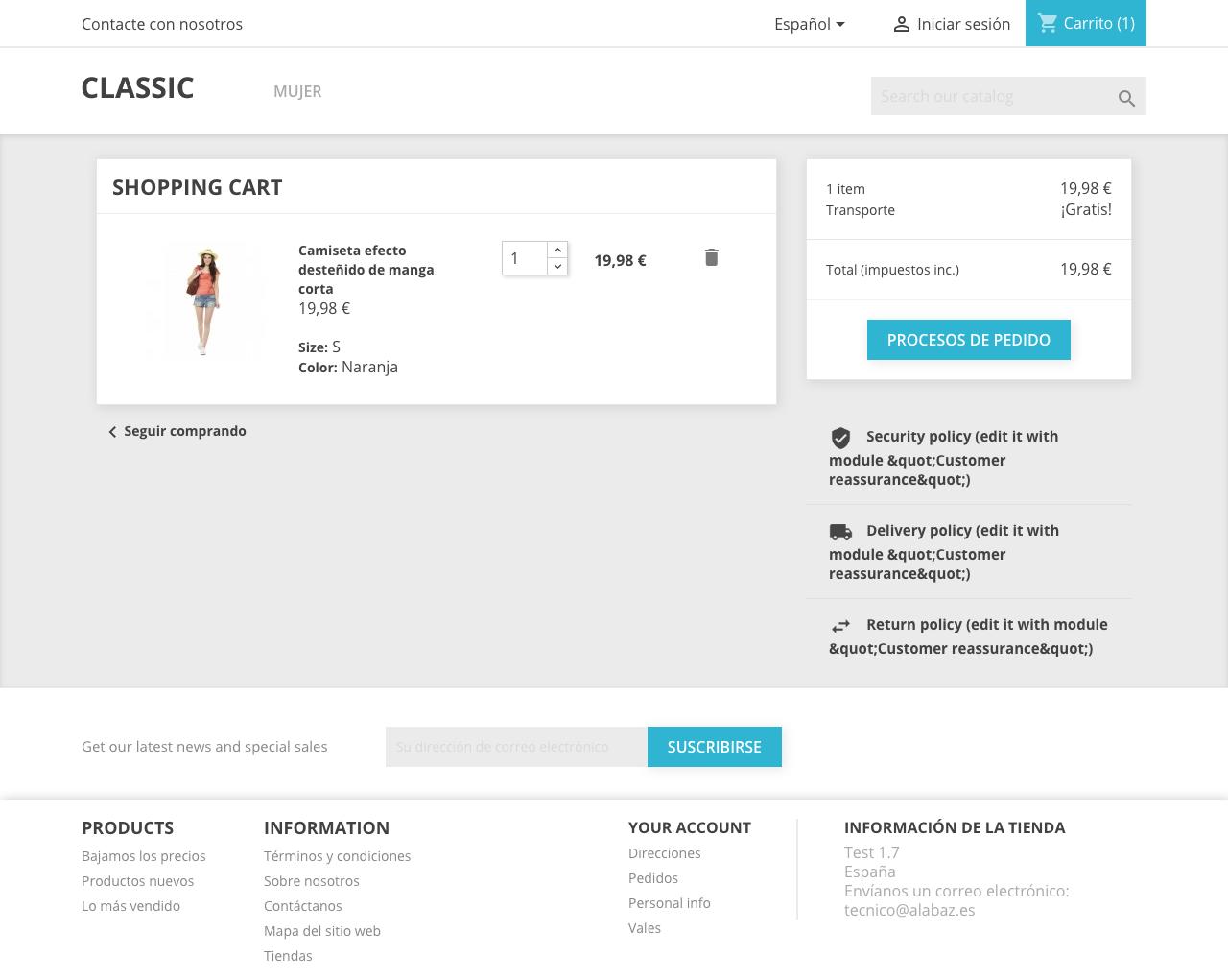 El proceso de pago se simplifica en PrestaShop 1.7