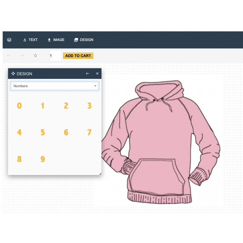 Produkt-Designer-Modul für PrestaShop