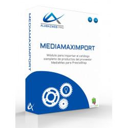 Products importer Prestashop Mediamax
