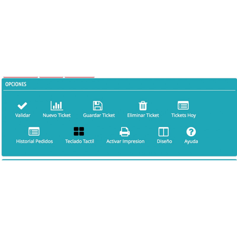 AwPOSTPV_Activar y desactivar opciones