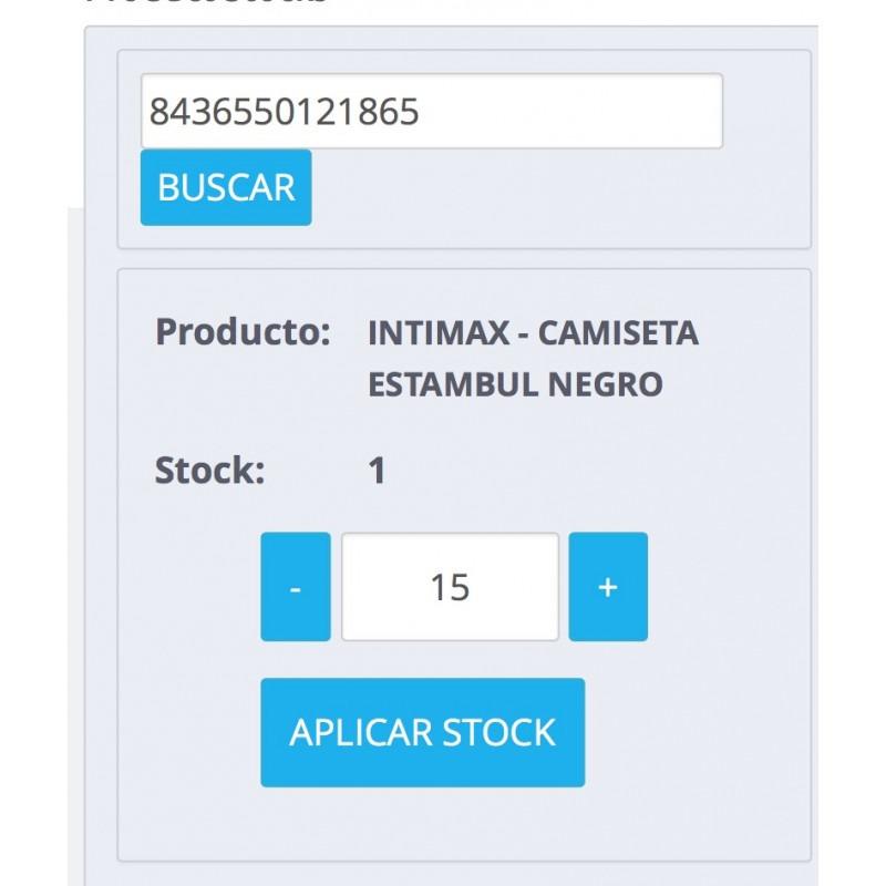 Modulo para preparar pedidos y modificar stocks