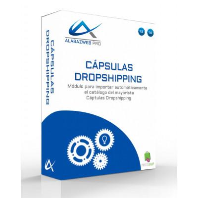 Cápsulas de importador produtos Dropshipping