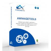 Módulo AwImageTools para gestionar imágenes en PrestaShop