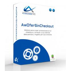 Módulo AwOferSinCheckout para mostrar ofertas en carrito