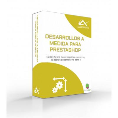 Sviluppo personalizzato per PrestaShop