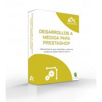Desarrollos a medida para PrestaShop