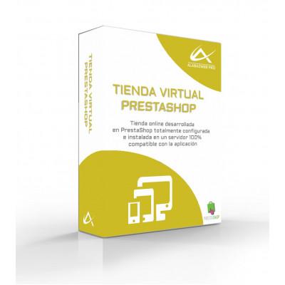 PrestaShop - full Pack Virtual shop