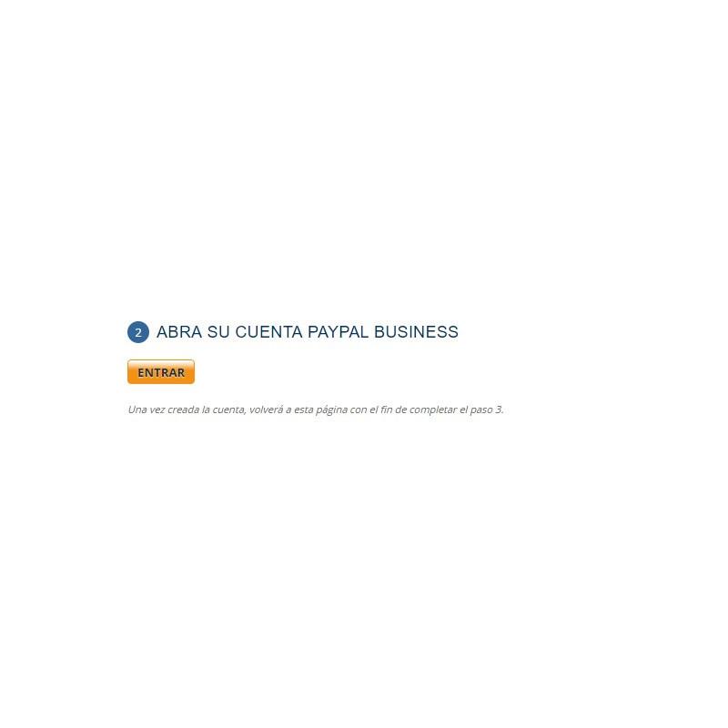 Crear cuenta business AWPaypal para Prestashop 1.6