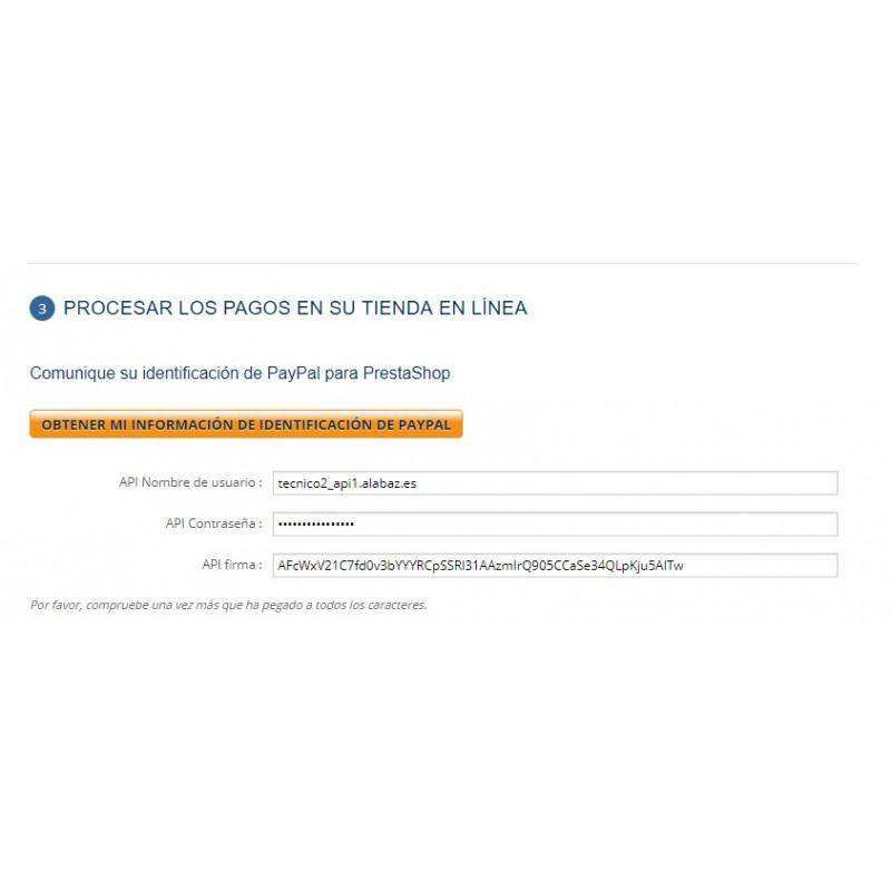 Módulo Prestashop para pagar vía Paypal sin costes extra