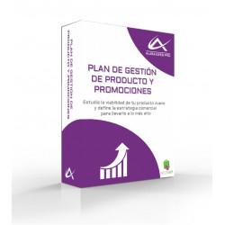 Plan de gestión de producto y promociones