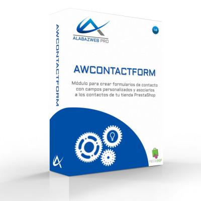 Módulo para a criação de formulários de contato personalizáveis