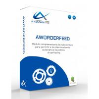 Modul ermöglicht das automatische Versenden von Aufträgen mit AwOrderSend Dropshipping