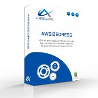 Calculadora De Tallas: caja awsizedress