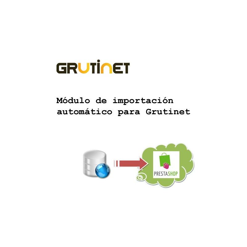 Import options of the grutinet module