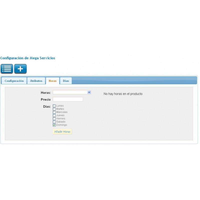 Pack Módulo de reservas y venta de servicios para Prestashop con ...