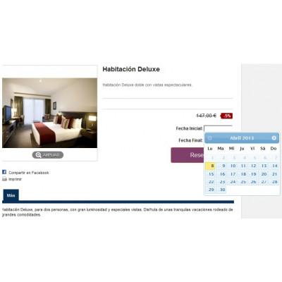 Pack Módulo de reservas y venta de servicios para Prestashop con buscador