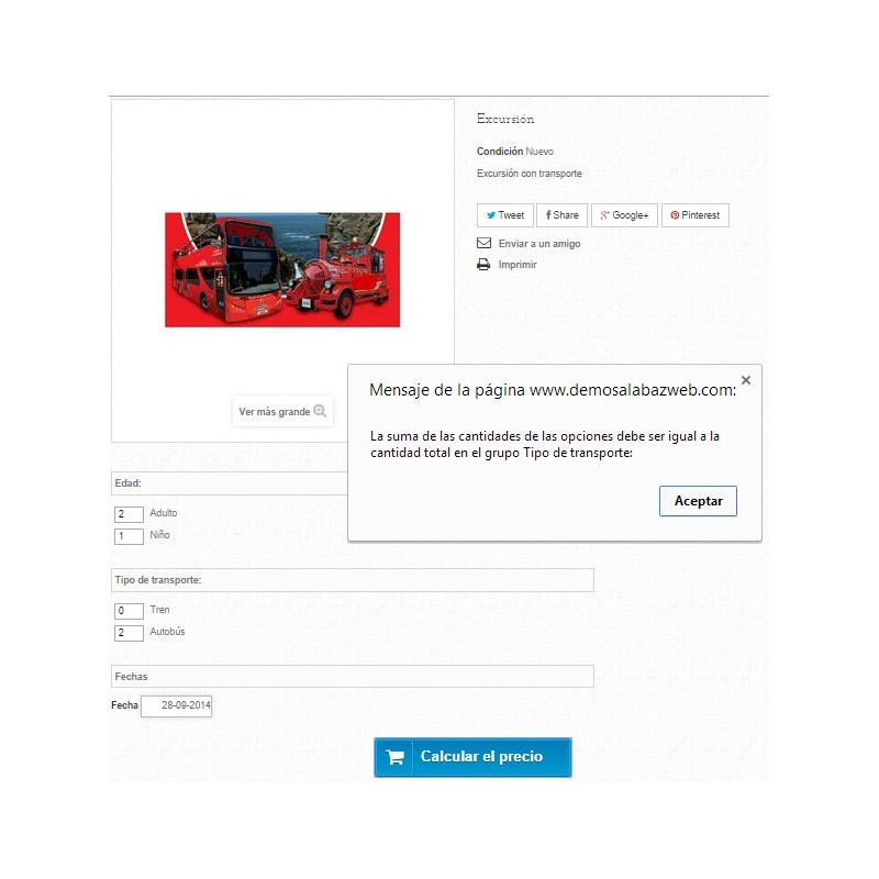 Módulo de reservas e venda de serviços para PrestaShop