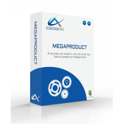 Modulo per vendere prodotti su misura in pollici, m2, m3, kg...