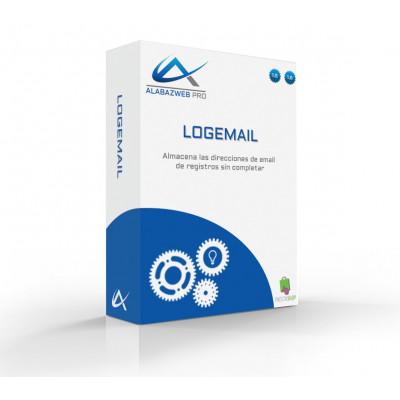 Módulo para almacenar las direcciones de email de registros sin completar