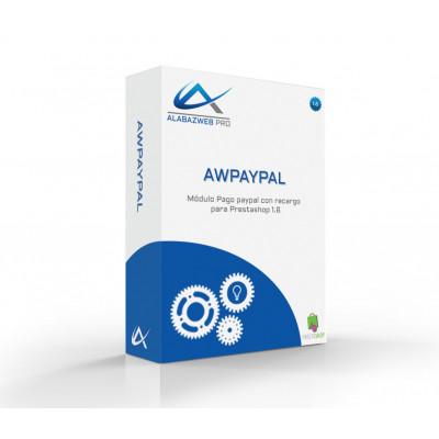 Modulo di pagamento Paypal con sovrapprezzo per Prestashop