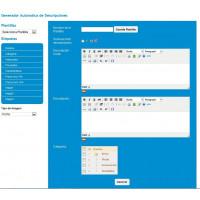 Módulo Mega Descripciones desde el BackOffice