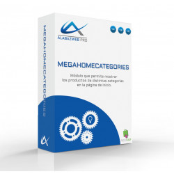 Categorie modulo Home Prestashop