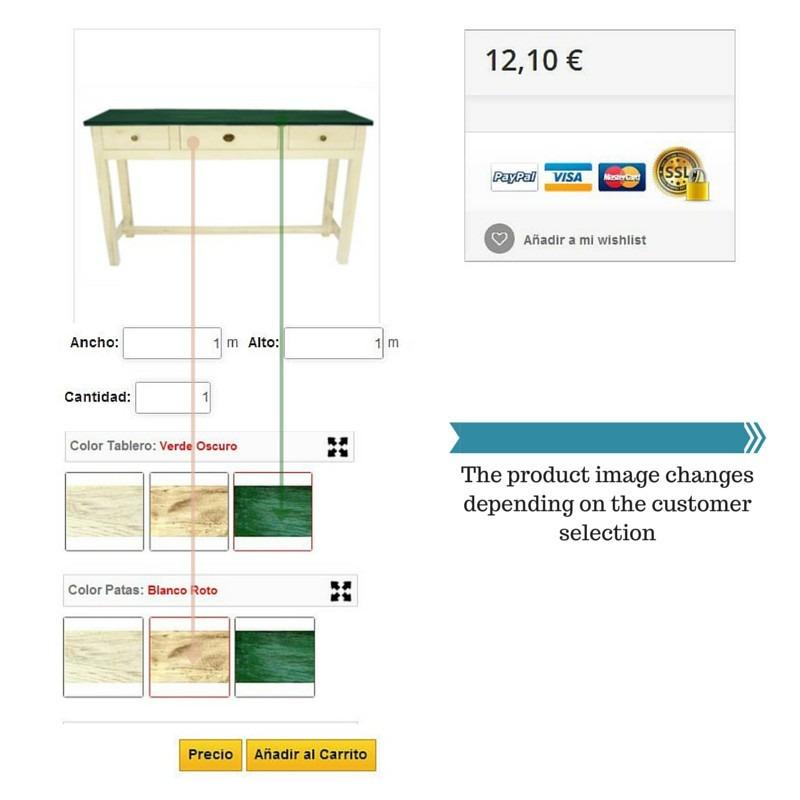 Módulo Megaproduct: Imagen cambiante - Prestashop