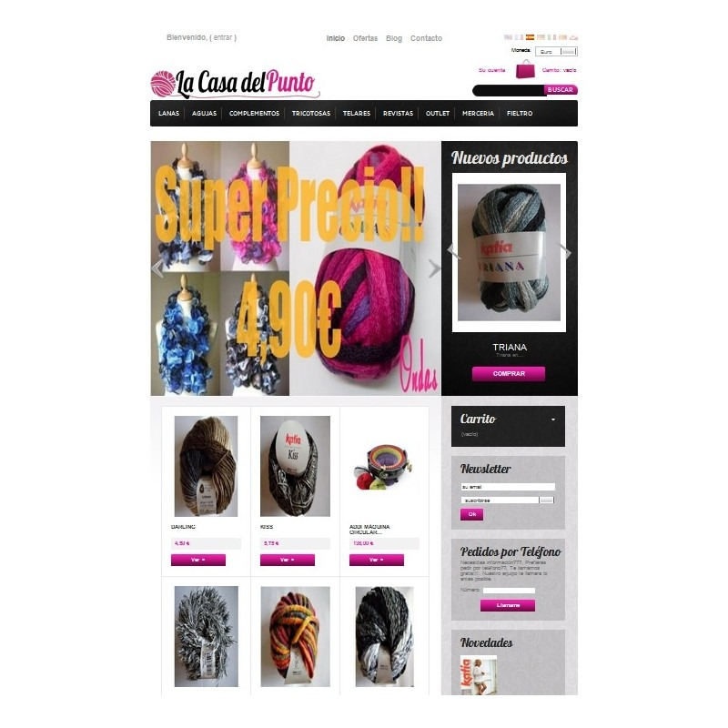 Boutique Prestashop