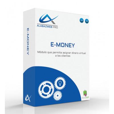 Módulo para asignar dinero virtual a los clientes