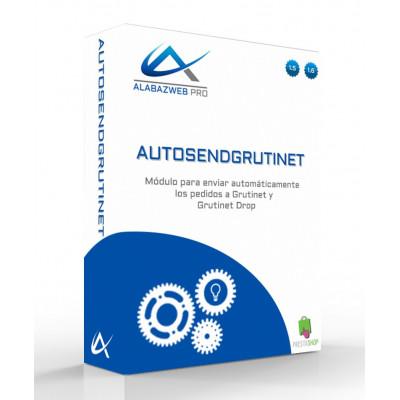 Módulo de envío automático de pedidos a Grutinet