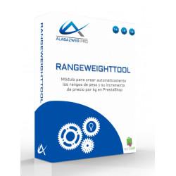Module pour créer automatiquement des gammes de poids et de leur augmentation dans le prix / kg