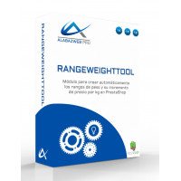 Module to automatically create ranges of weight and their increase in price per kg
