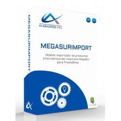 Modulo Importador de productos de Megasur para Prestashop