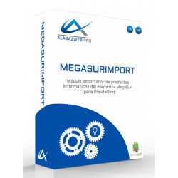 Importer of products of Megasur for Prestashop module