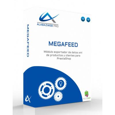 Modulo MegaFeed Exportador Datos XML y CSV