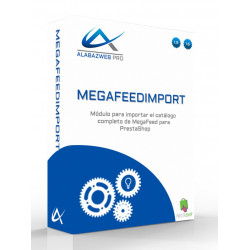 Importer of DropShipping catalogs from suppliers with MegaFeed