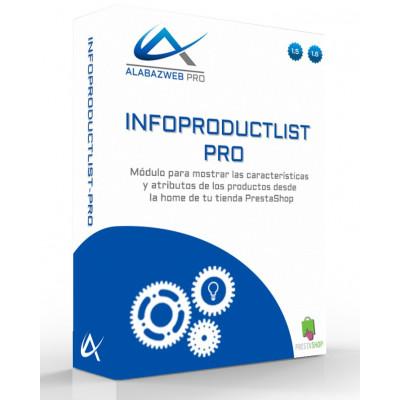 Modul zum Anzeigen von Attributen und Eigenschaften von Artikeln in Produktlisten