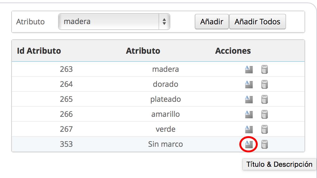 Editar la ayuda mediante tooltip en atributo