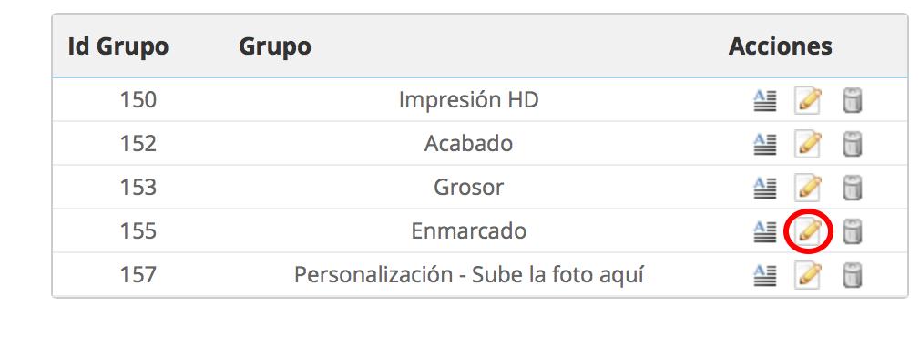 Acceder a grupo para editar atributo y añadir ayuda