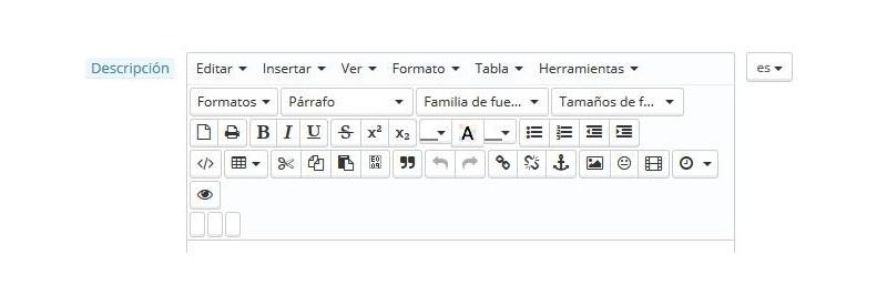 editor de PrestaShop completo