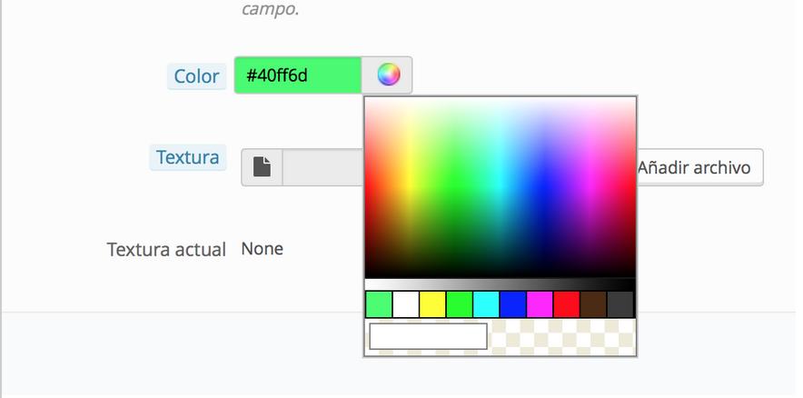 crea este tipo si quieres utilizar un color como valor