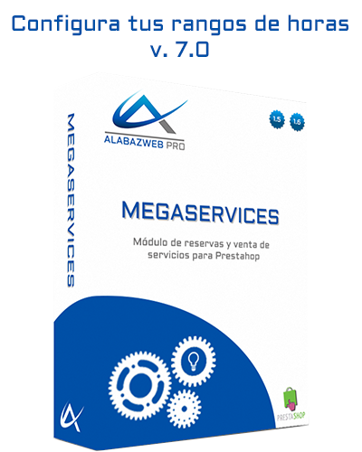 Learn how to configure MegaServices hours ranges