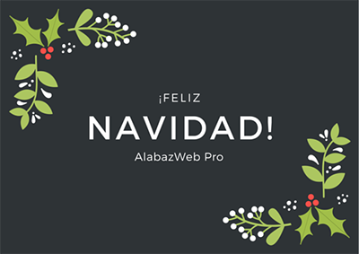 AlabazWeb Pro team wishes you merry Christmas!