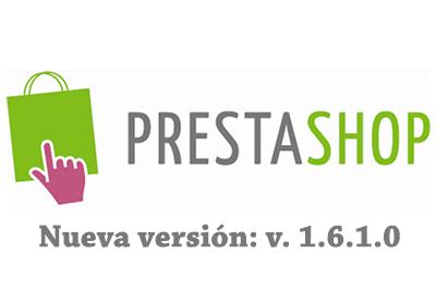 1.6.1.0 La nueva versión de Prestashop