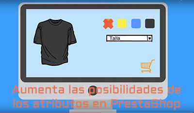 Multiplicar os atributos em suas opções de loja PrestaShop