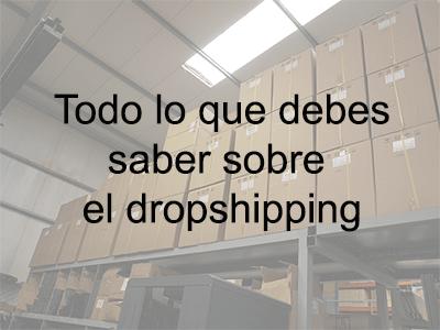 Todo lo que debes saber sobre el dropshipping