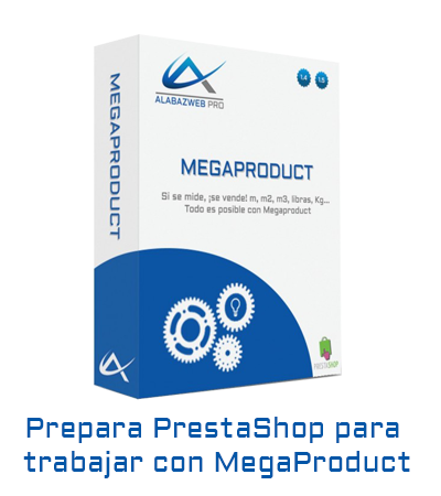 Prepara PrestaShop 1.6 para usar megaproduct
