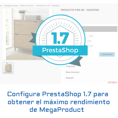 Configure PrestaShop 1.7 for megaproduct